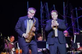Doug Cook and Jeffrey Wohlbach (Buzz Jones Big Band).