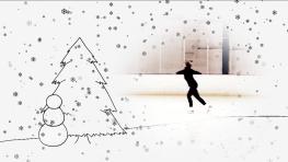 Frances Skating + Snowman4