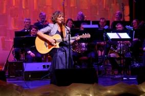 Frances Drost in concert.