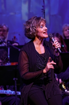 Frances Drost in concert.